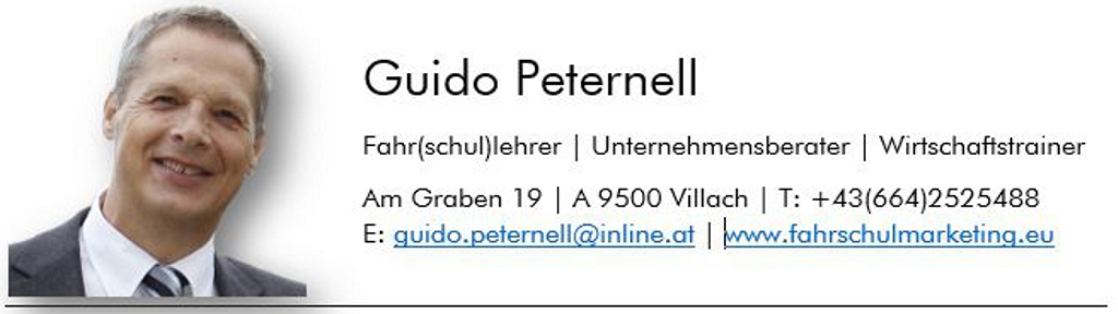 Guido Peternell Referentenprofil