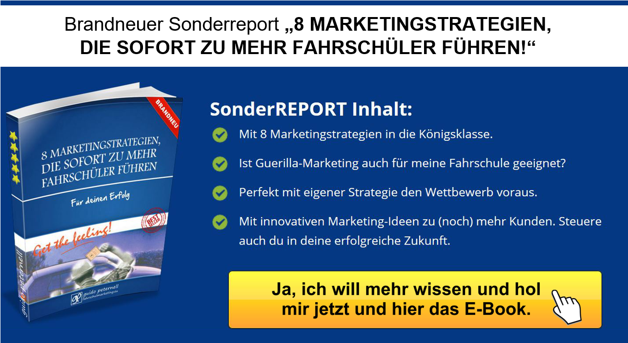 Brandneuer Sonderreport 8 Marketingstrategien